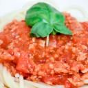 Nietypowe spaghetti (wegetariańskie)