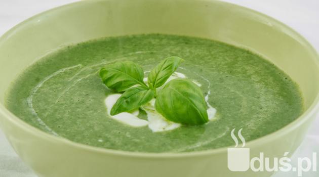 Zupa krem szpinakowo-brokułowa