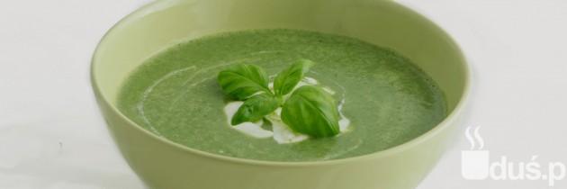 Zupa krem z brokułów i szpinaku