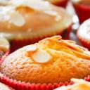 Muffinki czekoladowe – bezglutenowe blondies z migdałami