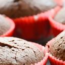 Muffinki czekoladowe – bezglutenowe brownie